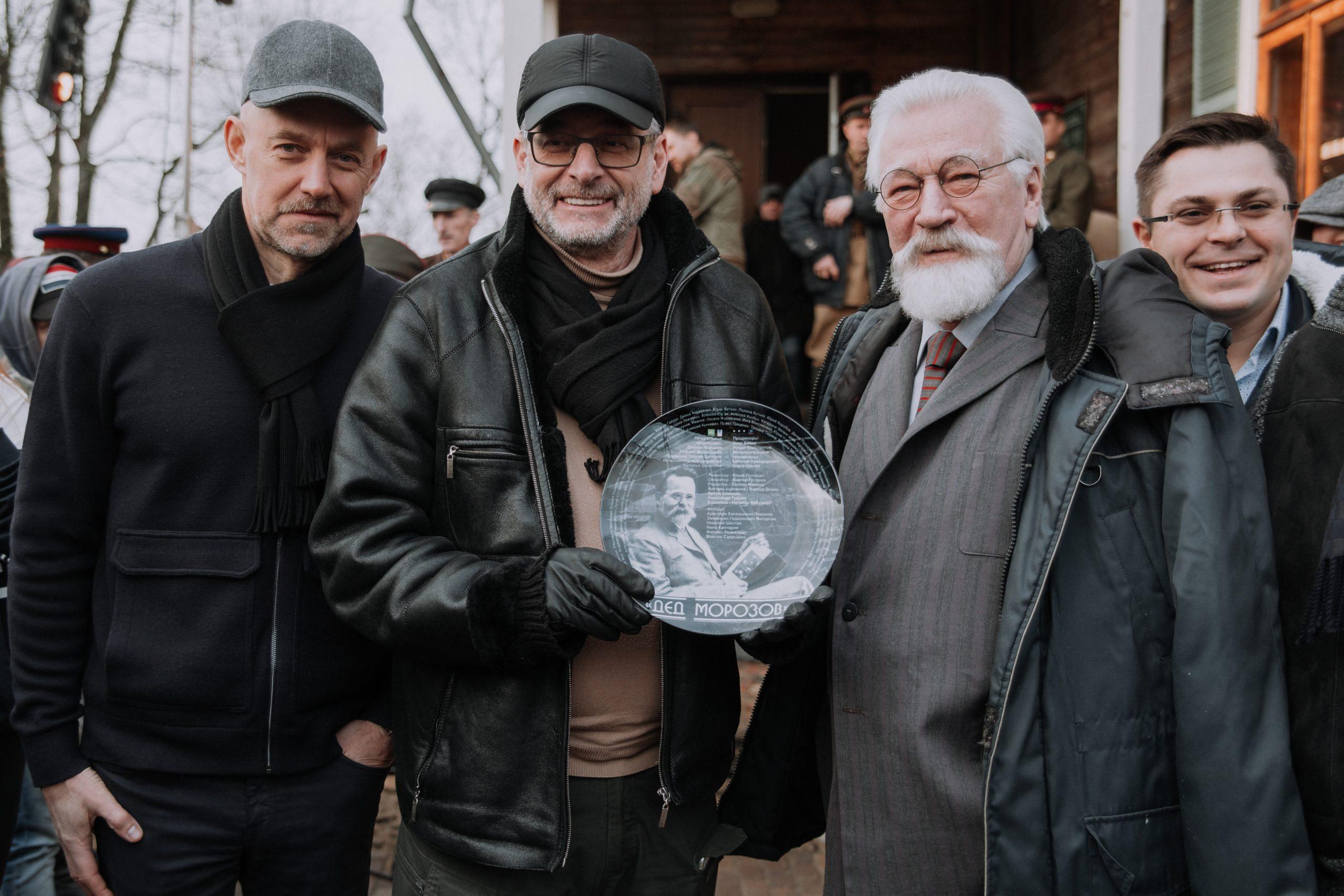 Телеканал НТВ приступил к съемкам фильма о 87-летнем снайпере Великой Отечественной войны
