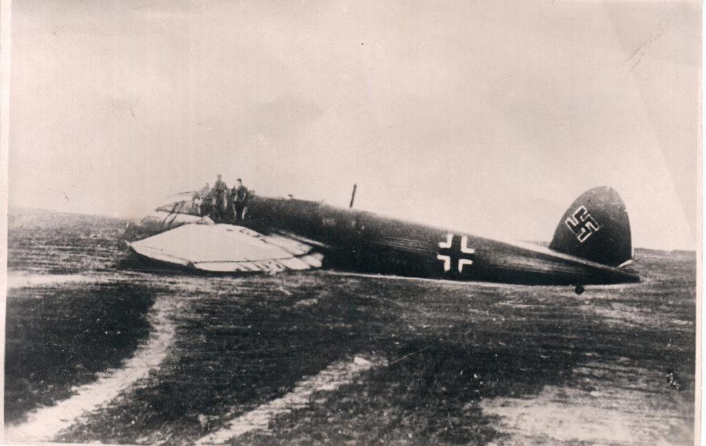 Самолет, на котором бежал из плена Девятаев