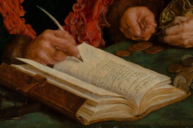 Портрет коллекторов XVI века