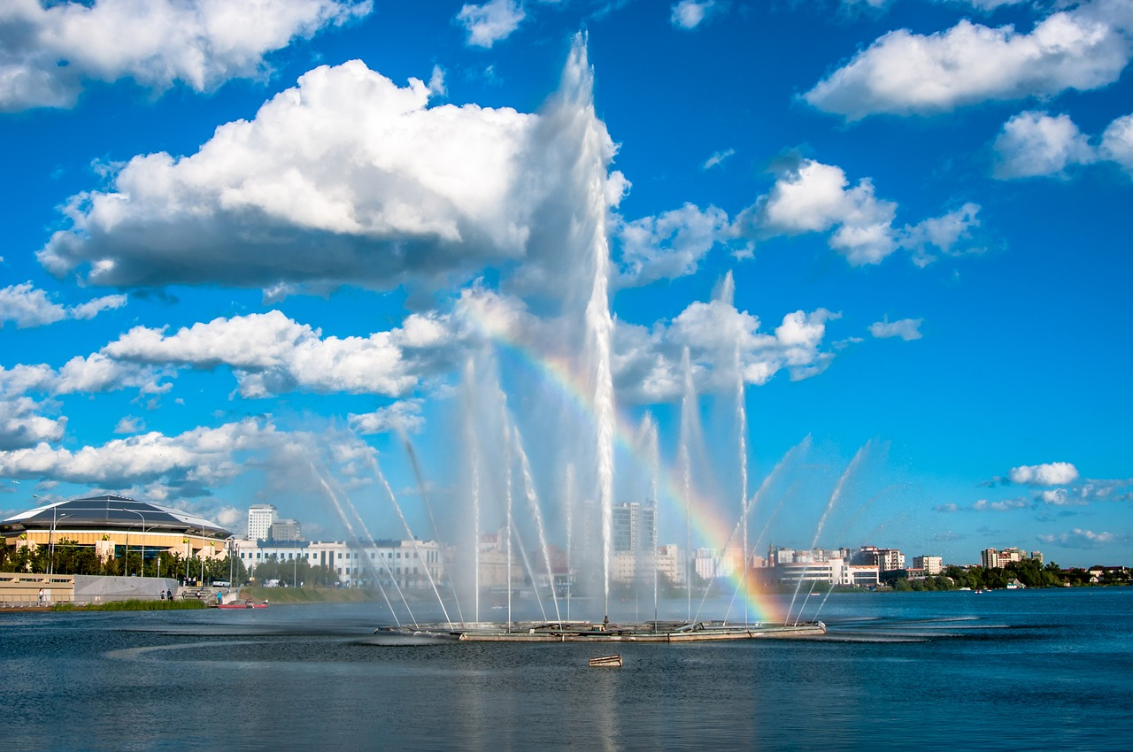 фонтан казань
