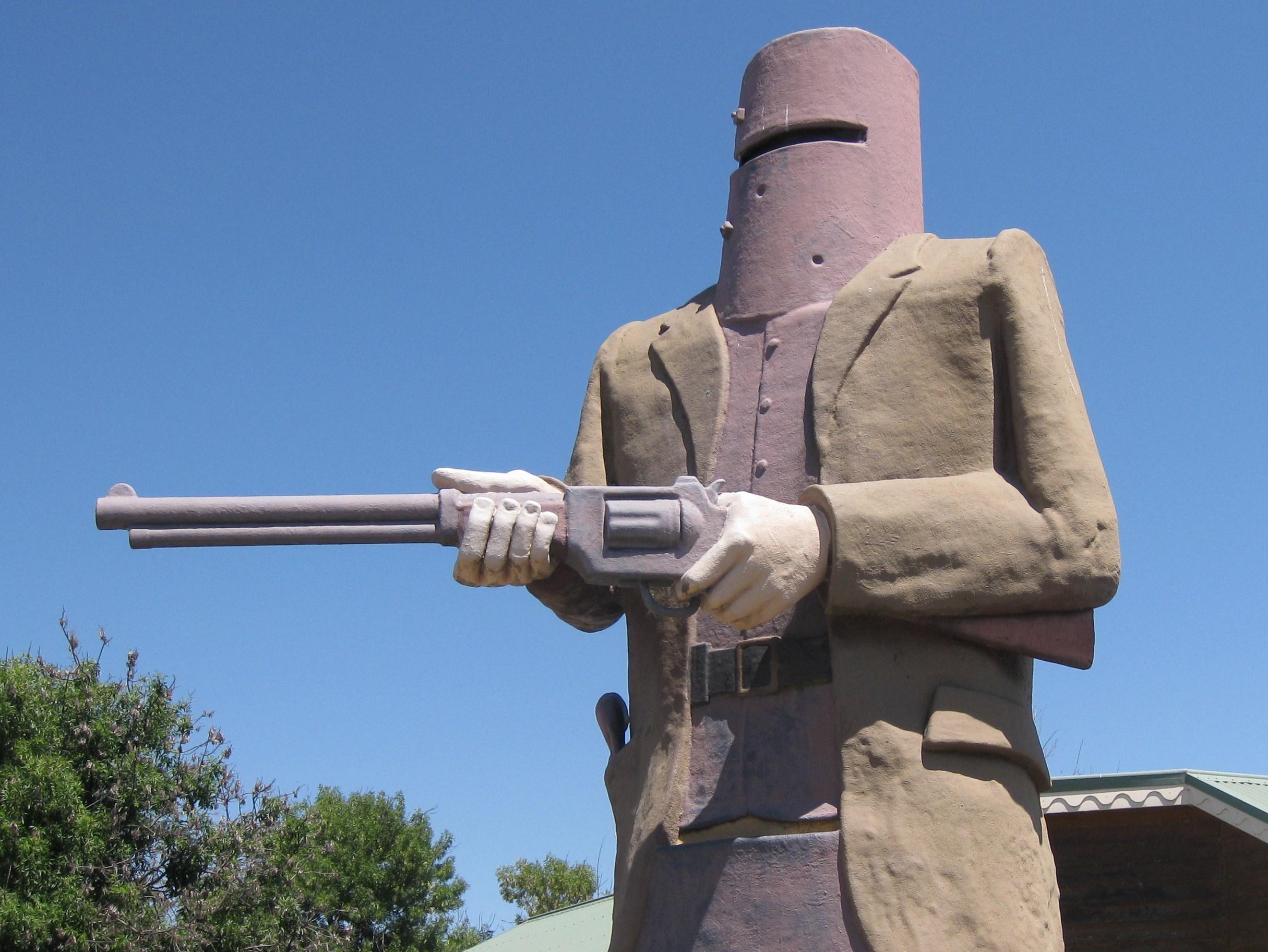 памятник Неду Келли