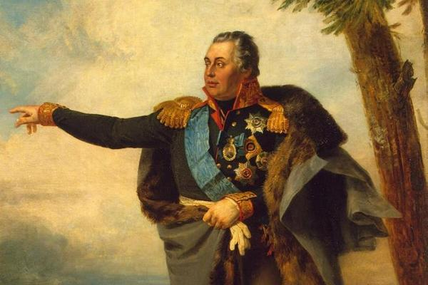 Джордж Доу. Портрет Михаила Илларионовича Кутузова, 1820-е годы.
