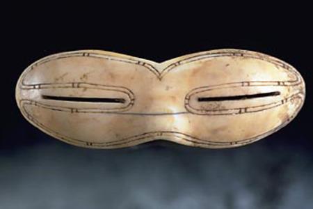 древние солнечные очки