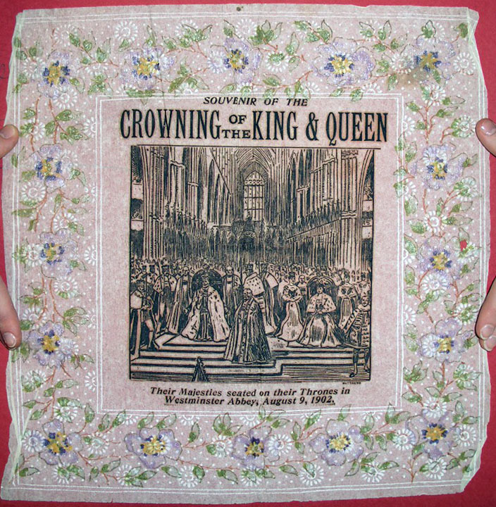 салфетка в честь коронации