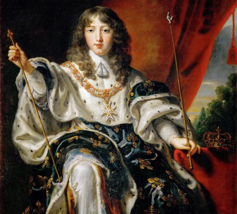 юный Людовик XIV