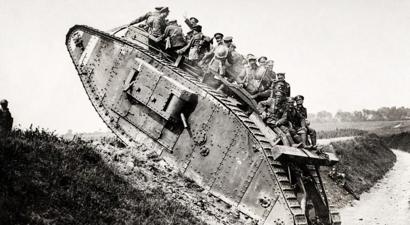 первые танки в истории