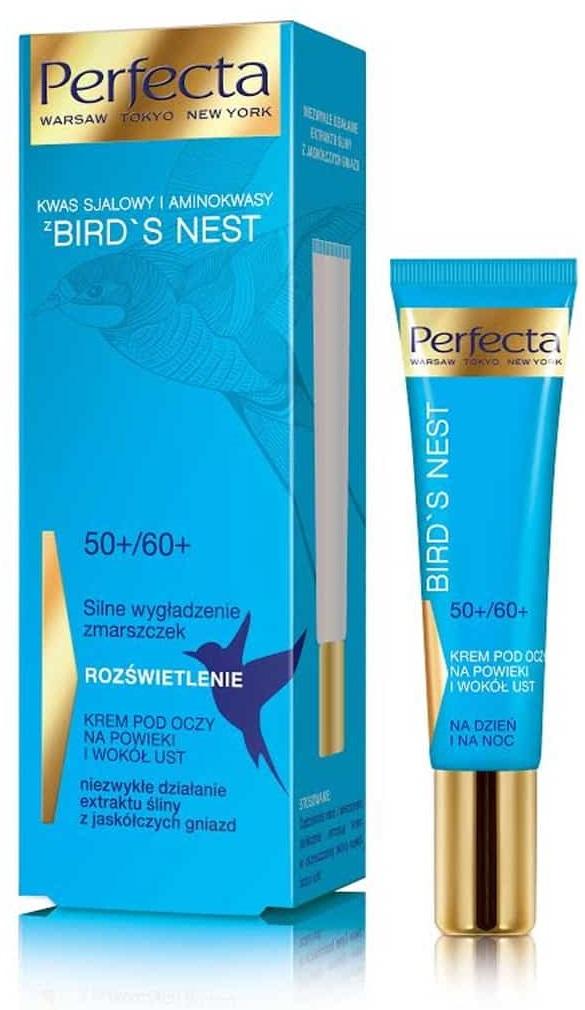 Крем для век, под глаза и зону вокруг рта Perfecta Bird's Nest 50+-60+